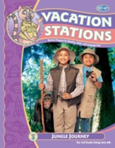 BJU Press Vacation Stations Book 4:  Jungle Journey Grades  3-4 (Updated Copyright)