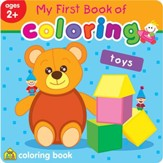 My First Book of Coloring: Toys