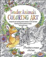 Tender Animals Coloring Art