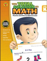Your Total Solution for Math, Grade PreK