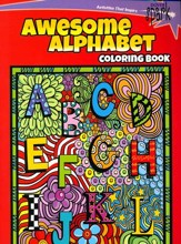 Awesome Alphabets Coloring Book