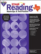STAAR Reading Warm-Ups & Test Practice Grade 7