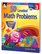 50 Leveled Problems for the  Mathematics Classroom Level 3