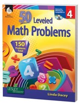 50 Leveled Problems for the  Mathematics Classroom Level 4