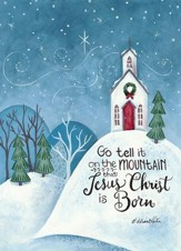 Go Tell It On the Mountain Christmas Cards, Box of 16
