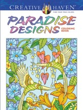 Paradise Designs Adult Coloring Book