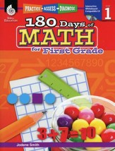Practice, Assess, Diagnose: 180 Days  of Math for First Grade