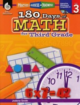 Practice, Assess, Diagnose: 180 Days of Math for Third Grade