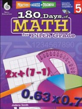 Practice, Assess, Diagnose: 180 Days of Math for Fifth Grade