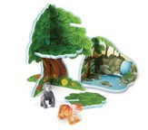 Jumbo Jungle Playset