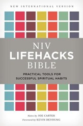 NIV, Lifehacks Bible, eBook: Practical Tools for Successful Spiritual Habits / Special edition - eBook