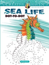Sea Life Dot-to-Dot