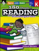 Practice, Assess, Diagnose: 180 Days of Reading--Kindergarten