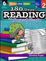 Practice, Assess, Diagnose: 180 Days of Reading for Second Grade