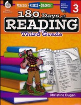 Practice, Assess, Diagnose: 180 Days of Reading for Third Grade  - Slightly Imperfect