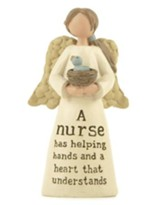 A Nurse Has Helping Hands, Angel Figure