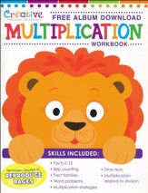 Multiplication Workbook with Album Download