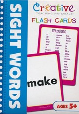 Sight Words Flash Cards (Pack of 50)