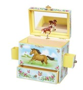 Wild and Free, Horse Jewelry Box