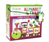 Alphabet Train Jumbo Floor Puzzle with Audio Music CD