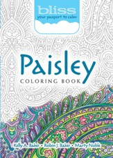 BLISS Paisley Coloring Book