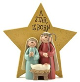 A Star is Born, Holy Family with Star Figurine