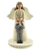 First Communion Angel, Little Boy, Figurine