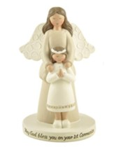 First Communion Angel, Little Girl, Figurine