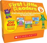 First Little Readers Box Set: Level D: A BIG Collection of Just-Right Leveled Books for Beginning Readers