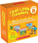 First Little Readers Parent Pack: Level D: 25 Irresistible Books That Are Just Right for Beginning Readers