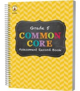 Common Core Assessment Record Book, Grade 5
