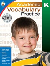 Academic Vocabulary Practice, Grade K