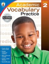 Academic Vocabulary Practice, Grade 2