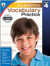 Academic Vocabulary Practice, Grade 4