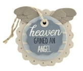 Heaven Gained An Angel Easel Plaque