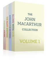The John MacArthur Collection Volume 1: Alone with God, Standing Strong, Anxious for Nothing, The Silent Shepherd - eBook