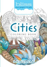 Cities Coloring Book