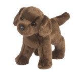 Tucker Chocolate Lab, Plush Dog