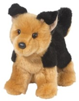 Rhea German Shepherd, Plush Dog