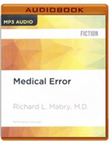 #2: Medical Error - unabridged audio book on MP3-CD