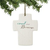 Count Your Blessings, Cross Ornament