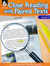 Close Reading with Paired Texts Level 3