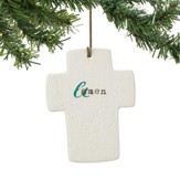 Amen, Cross Ornament