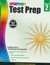 Spectrum Test Prep, Grade 2 (2015 Edition)