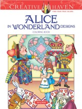 Alice in Wonderland Designs Coloring Book