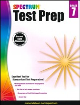 Spectrum Test Prep, Grade 7 (2015 Edition)