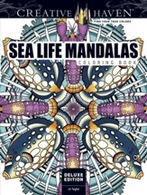 Sea Life Mandalas Coloring Book