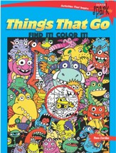 Things That Go Find It! Color It!