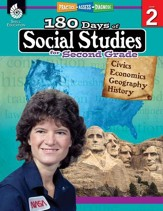 180 Days of Social Studies for  Second Grade