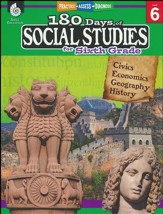 180 Days of Social Studies for Sixth  Grade